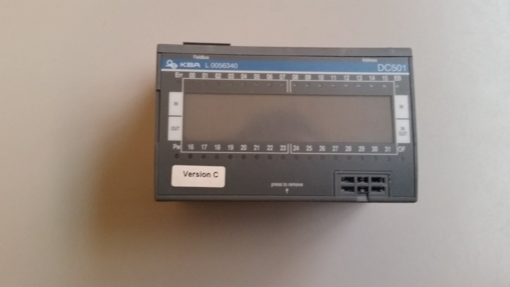 Plc DC501 KBA